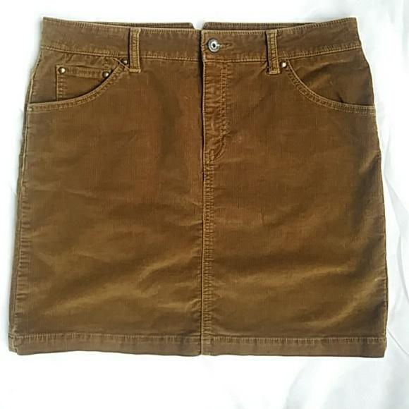 GAP Dresses & Skirts - Gap Carmel corduroy mini skirt